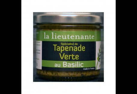 Spécialité de Tapenade Verte au Basilic La Lieutenante
