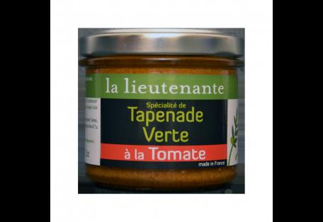 Spécialité de Tapenade Verte à la Tomate - La Lieutenante