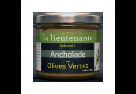 Spécialité d'Anchoïade aux Olives Vertes - La Lieutenante
