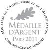 Concours Général Agricole de Paris - Médaille d'Argent 2011