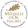 Concours Général Agricole de Paris - Médaille d'Or 2011